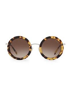 6e5d9e2de QUICK VIEW. Miu Miu. 59US 48MM Round Sunglasses