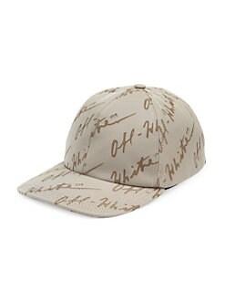 d912bf0bb8 Off-White. Logo Jacquard Baseball Cap