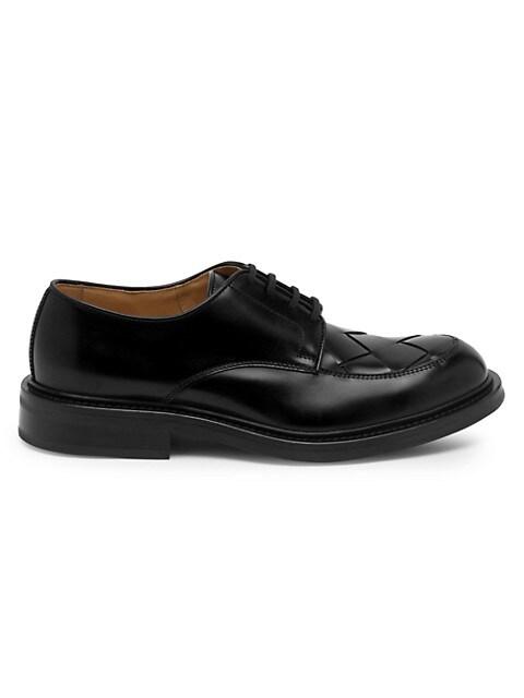 Intrecciato Varenne Leather Loafers