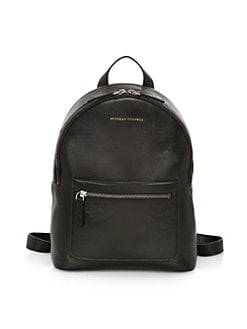 b958092131c6 Pebbled Leather Backpack BLACK. QUICK VIEW. Product image