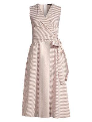 971df8948a Gottex Swim - Primrose Cotton & Silk Wrap Dress - saks.com