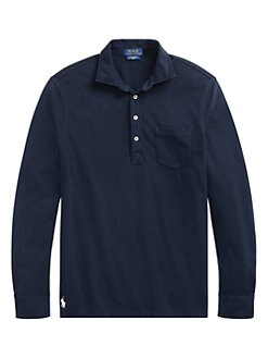 3a4c0cf6a QUICK VIEW. Polo Ralph Lauren. Slim-Fit Featherweight Mesh Rugby Shirt