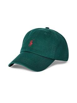 3e18a4417 QUICK VIEW. Polo Ralph Lauren. Logo Embroidered Baseball Cap