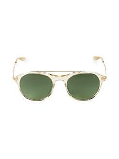 b2a4e140f1761 QUICK VIEW. Barton Perreira. 52MM Aviator Sunglasses