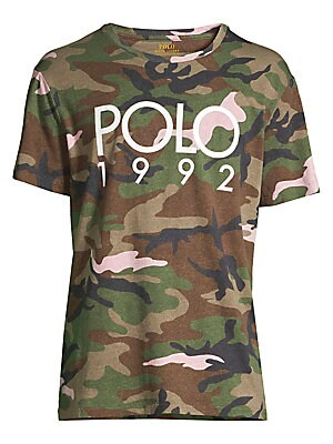 37300244 Polo Ralph Lauren - Slim-Fit Camo Print T-Shirt