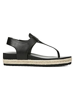910f1aa03943 QUICK VIEW. Vince. Flint Leather Thong Sandals
