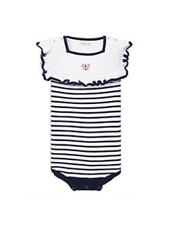 db4c0e9e331 Baby Girl s Nautical Bodysuit WHITE NAVY. QUICK VIEW. Product image