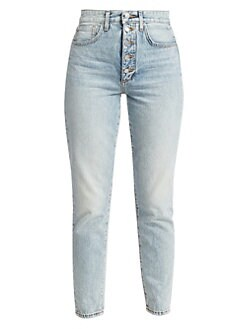e0f3a7f11047 Joe s Jeans. The Danielle High-Rise Vintage Straight-Leg Jeans