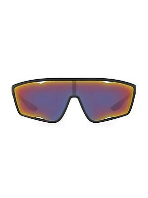 7841a7d1dfb Prada - Linea Rossa 140MM Mirrored Shield Sunglasses