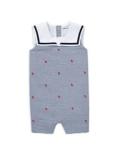 2a69f640647 QUICK VIEW. Ralph Lauren. Baby Boy s Embroidered Stripe Romper