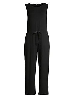efae4440647 Eileen Fisher. Fine Tencel Jersey Jumpsuit