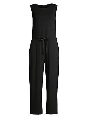 59fd44753c73 Nanushka - Ana Vegan Leather Tie-Front Jumpsuit - saks.com