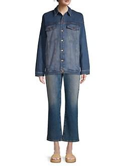 81554753cd Eileen Fisher. Oversized Denim Jacket