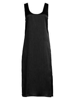 bd71b64782297c QUICK VIEW. Theory. Effortless Silk Slip Dress