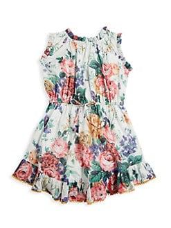 d8d12f72b7f Zimmermann Kids. Little Girl s   Girl s Allia Floral Flip Dress