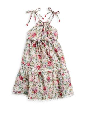 Zimmermann Kids Little Girl S Girl S Honour Floral Dress