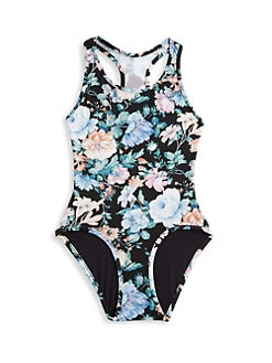 d2fec014ed Zimmermann Kids. Little Girl's & Girl's Verity Racer One-Piece Swimsuit