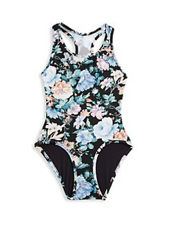 71450c11f1 QUICK VIEW. Zimmermann Kids. Little Girl's & Girl's Verity Racer One-Piece  Swimsuit