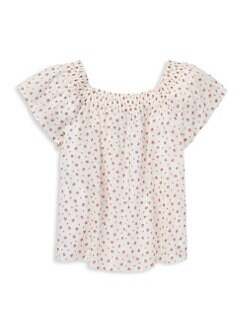 c74dc51c42e Ralph Lauren. Girl s Floral Cotton Top