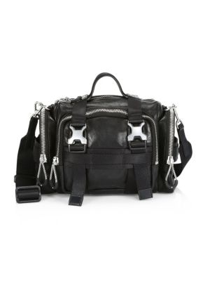 Alexander Wang Surplus Leather Duffle Bag