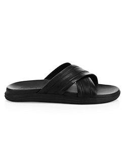 d7e0bb95a3 ... Leather Sandals BLACK. QUICK VIEW. Product image