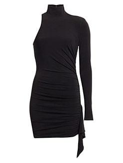3be89ba03207c QUICK VIEW. Cinq à Sept. Augusta Ruched One-Shoulder Dress