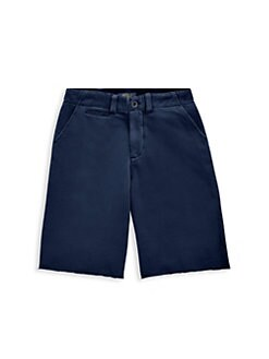 00d2ce691e24 Ralph Lauren. Boy s Flat-Front French Terry Chino Shorts