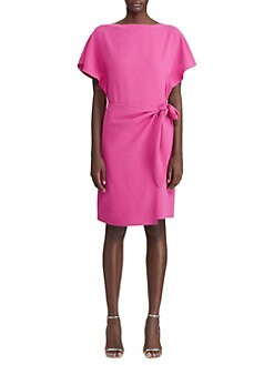 0ecfd2616ab Ralph Lauren Collection. Wayland Knotted Shift Dress