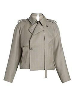 11e183be474e6 Women's Apparel - Coats & Jackets - Trench Coats & Rain Coats - saks.com