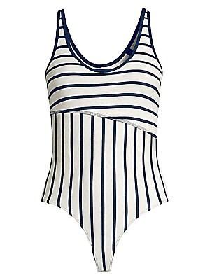 Stripe Bodysuit by Atm Anthony Thomas Melillo