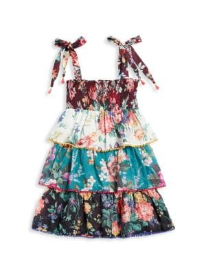 Zimmermann Kids Little Girl S Girl S Allia Shirred Tiered Dress