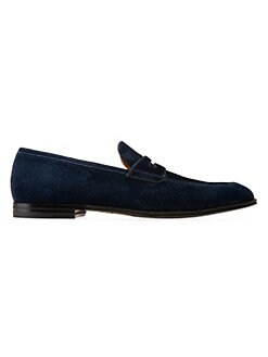 f0700f6c8ec Bally. Westminster Webb Suede Penny Loafers