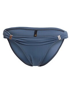 4dfac9c8e20 ViX by Paula Hermanny. Blue Grey Bia Full Bikini Bottom