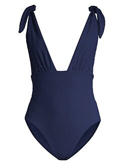 27add97e73 Daphne One-Piece Swimsuit NAVY. QUICK VIEW. Product image