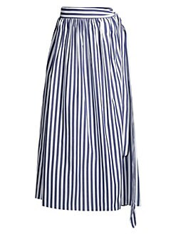 8f26bb7176a6 QUICK VIEW. Mara Hoffman. Katrine Striped Coverup Skirt