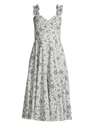 Rebecca Taylor Dresses Provencal Floral Cotton Dress