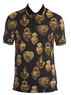 2064e20b Sacred Heart Polo BLACK GOLD. QUICK VIEW. Product image