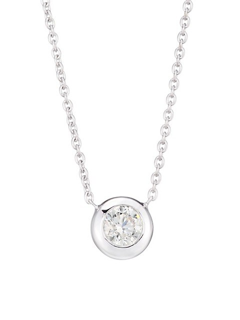Diamond By The Inch 18K White Gold & Diamond Necklace