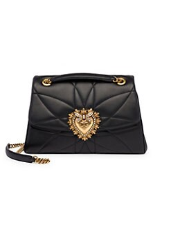a21feb0c7ce6 Devotion Quilted Leather Shoulder Bag BLACK. QUICK VIEW. Product image