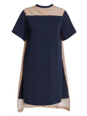 Chlo Scarf Print Back Dress