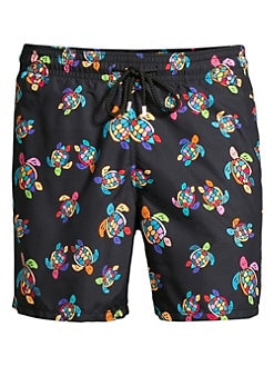 7cd5e61013 Vilebrequin. Over The Rainbow Turtles Swim Shorts