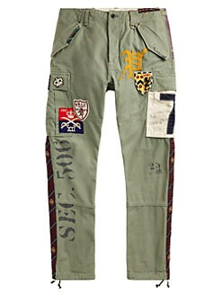 92db53a8 Polo Ralph Lauren. Cotton Canvas Cargo Pants