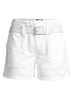 White Dress Shorts