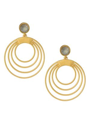 Dean Davidson Savannah Hoop Droplet Earrings