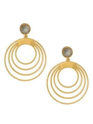 Dean Davidson Savannah Hoop Droplet Earrings