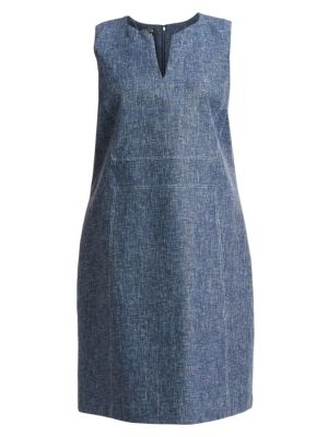 Lafayette 148 Dresses Brett Sleeveless Dress