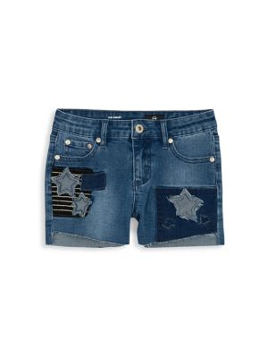 Ag Adriano Goldschmied Kids Little Girl S Denim Patch Shorts