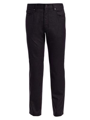 Ermenegildo Zegna Classic Flannel Pants