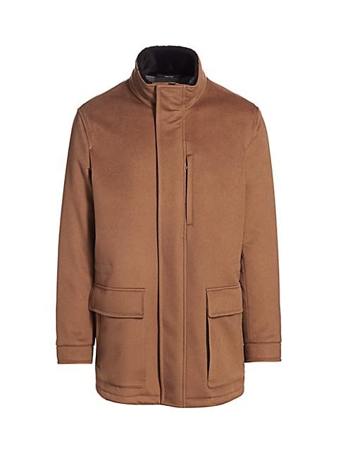 Vicuna Elements Cashmere Coat