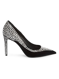ca7adfab8f Misha Velvet & Strass Pumps BLACK. QUICK VIEW. Product image